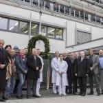 Richtfest für den Erweiterungsbau der Kinder- und Frauenklinik Gelnhausen