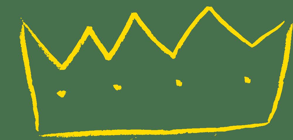 gelbe Krone